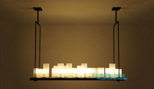 Светильники из свечей
