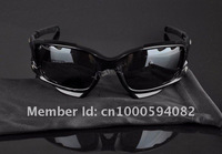 Мужские солнцезащитные очки Cool Newest Mission Impossible Ghost Protocol Tom Cuise Same Style Crystal Frame White Earsocks O logo Men's Sports Sunglasses