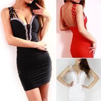 Женское платье v/bodycon