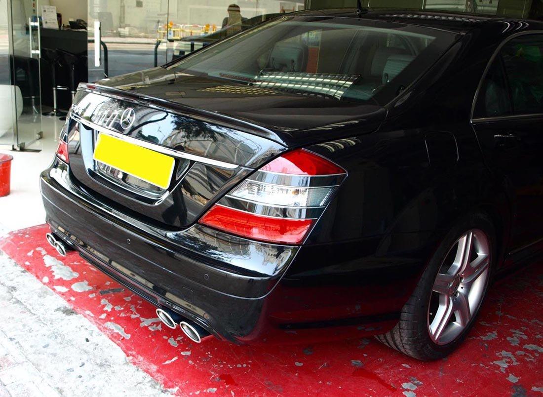 S600 S63 AMG Trunk Spoiler