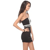 Spicy girl black adjustable shoulder strap off shoulder skirt,Tight pack