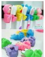 милые животные присоска держатель зубной щетки, модные товары для ванной комнаты, случайных доставки, 2шт/набор