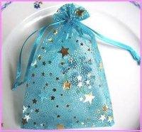 Пакетики для ювелирных изделий 9*7cm BEAUTIFUL, Yarn Stars candy bags / Wedding Supplies / organza pouch/ Jewelry Bag / Packaging Bag