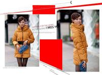 высочайшее качество / продает тепла! / daimo роскошный воротник тонкий утолщение длинные куртки пальто