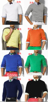 2013 Sweater man long sleeve cashmere O-Neck sweaters spring autumn winter pullovers Free shipping