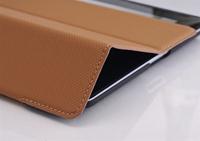 высокая доставленных 3 складной стенд 9,7 складные кожи стенд кожаный чехол для ipad 2 3