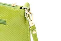 Маленькая сумочка Pear doll cowhide day clutch female cowhide crocodile pattern envelope day clutch bag messenger bag