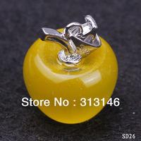 Ювелирная подвеска 6pcs/mix apple 18/925