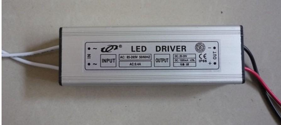 50 W LED-Driver Trafo KSQ / 1,5 A / 20-39 V