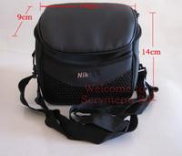 Free shipping 1 pices New Hot Black New Camera Case Bag for Nikon Coolpix L120 L110 P500 P100 P80 P90 L100
