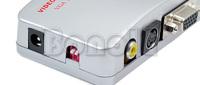 Компьютерные кабели и Адаптеры Universal PC Laptop VGA to TV Signal Converter Box 018