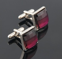 Запонки и зажимы для галстука 2013 new arrive fashion noble the high quality French men's cufflinks brand new Square opals s hot sales
