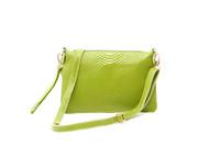 Pear doll cowhide day clutch female cowhide crocodile pattern envelope day clutch bag messenger bag