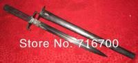Товары для ручных поделок Vintage European Army Military Bayonet Dagger Sword Rosewood Hilt Rare