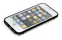 Retail/Wholesale Ultra Thin Clear Transparent Bumper Case for iPhone 5 5G 5th Free Shipping 6959