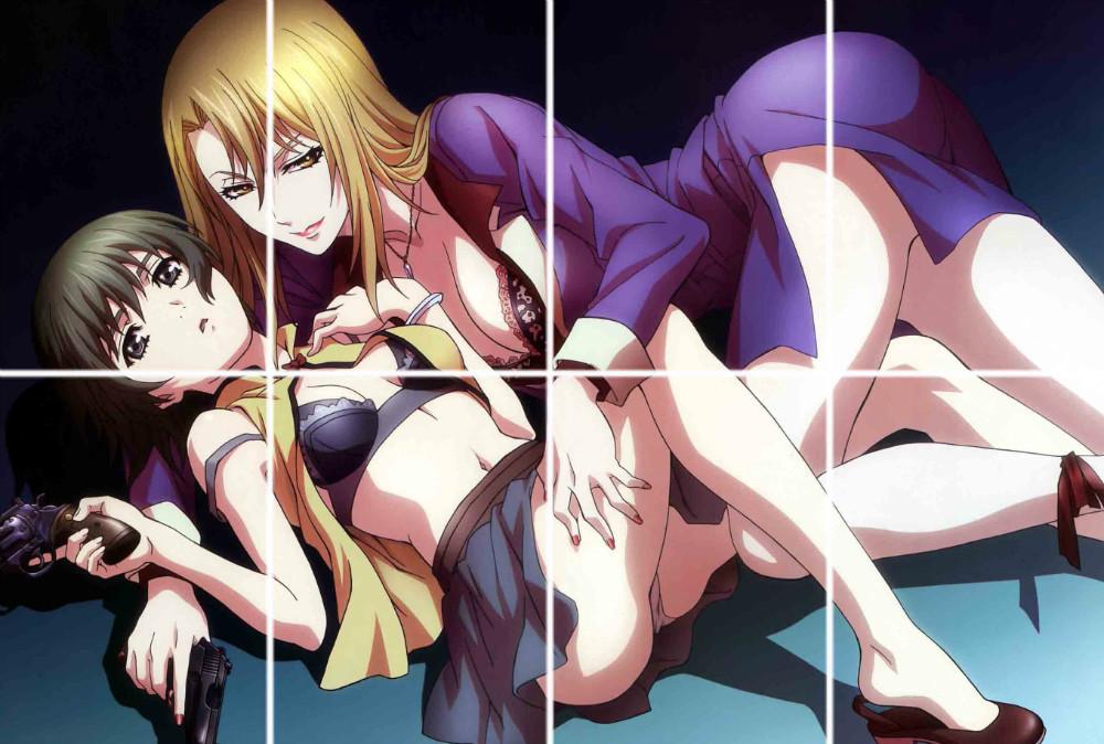 lesbian anime: