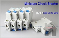 25A,miniature circuit breaker(type C used for illumination protection)100% quality products