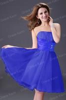 Вечернее платье 2012 Sexy Short Mini Party Prom Cocktail Dress, EMS, CL4097