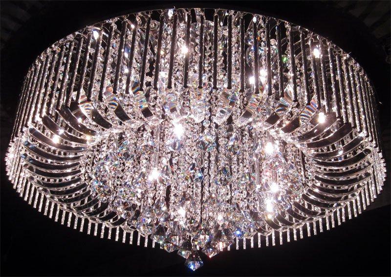 Kristall lampen modern lampen f r wohnzimmer modern aus - Stehlampe mit kristallen ...