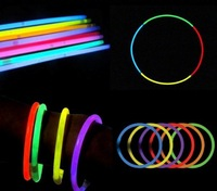 wholesale Glow stick/lightstick with a connector installed/Flash stick 3*100pcs per pack/7color mixed package