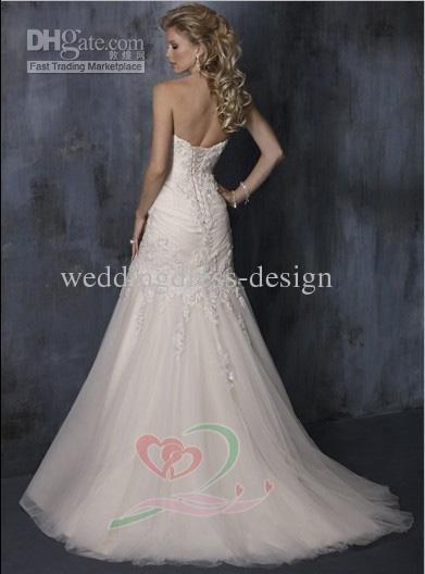Verführerisch hochzeitskleid braut kleid prom gownwd 083