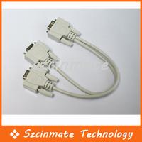 Потребительские товары 1 PC to 2 Monitors Y Splitter Cable For VGA Video 50pcs/lot