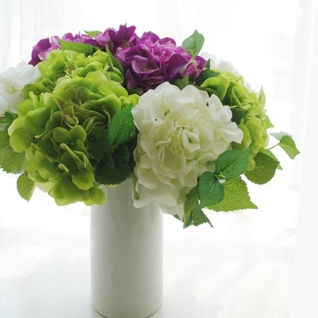 Detail Feedback Questions About Faux Hydrangea Artificial Flower