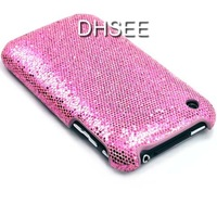 Чехол для для мобильных телефонов New Glitter Flash Hard Back Cover Case for iPhone 3G 3GS Case Airmail