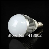 Free shipping 2pcs Dimmable Bubble Ball Bulb AC85-265V 9W E14 E27 B22  High power Globe light LED Light Bulbs Lamp Lighting