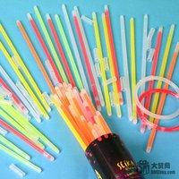 100pcs/lot красочные светящийся жезл glow stick флэш-памяти фестиваля пункт флэш