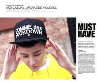 Женская бейсболка Hip-hop cap COMME DES /5 /lot