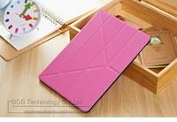 5 формы магнитного стенд кожаный чехол для ipad воздуха 9.7' смарт крышку для ipad 5 флип тонкий дизайн синий розовый зеленый Боб