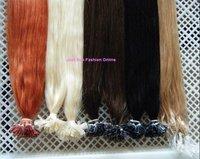 24inch #1 100g Indian Prebonded Utip Nail Hair Remy Hair Extensions Human Hair 1g/strand 100s High Quality