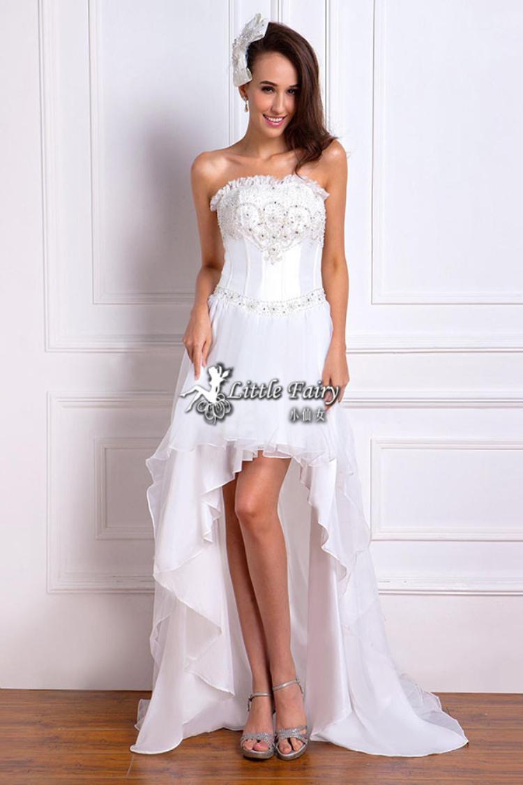 Beach Wedding Dresses Short In Front Long In Back Wedding Dress