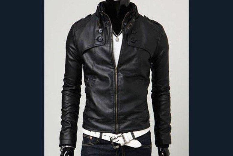 giacca uomo pelle