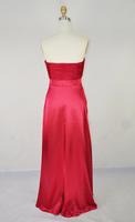 Вечернее платье Sweetheart Pleated Stretch Satin A-line Floor Length Evening Dress Ladies Dresses Prom Gowns A-28