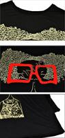 Женская футболка Brand new 7710 7710#