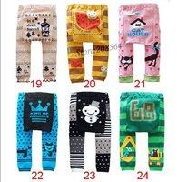 Брюки для девочек 6 pcs/lot Children Kids PP Pants Long Trousers Cartoon Legging Cotton Baby Boys Girls Wear HOT Sale