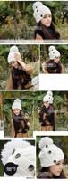 Женская шапка NEW Hat Twisted , W4190