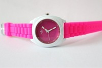 Наручные часы Jelly Watch Fashion Candy Color Fashion Watch Female Clover Watch