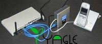 VoIP-телефон Unlocked VoIP Adapter Linksys PAP2T. US/EU/UK/AU Plug