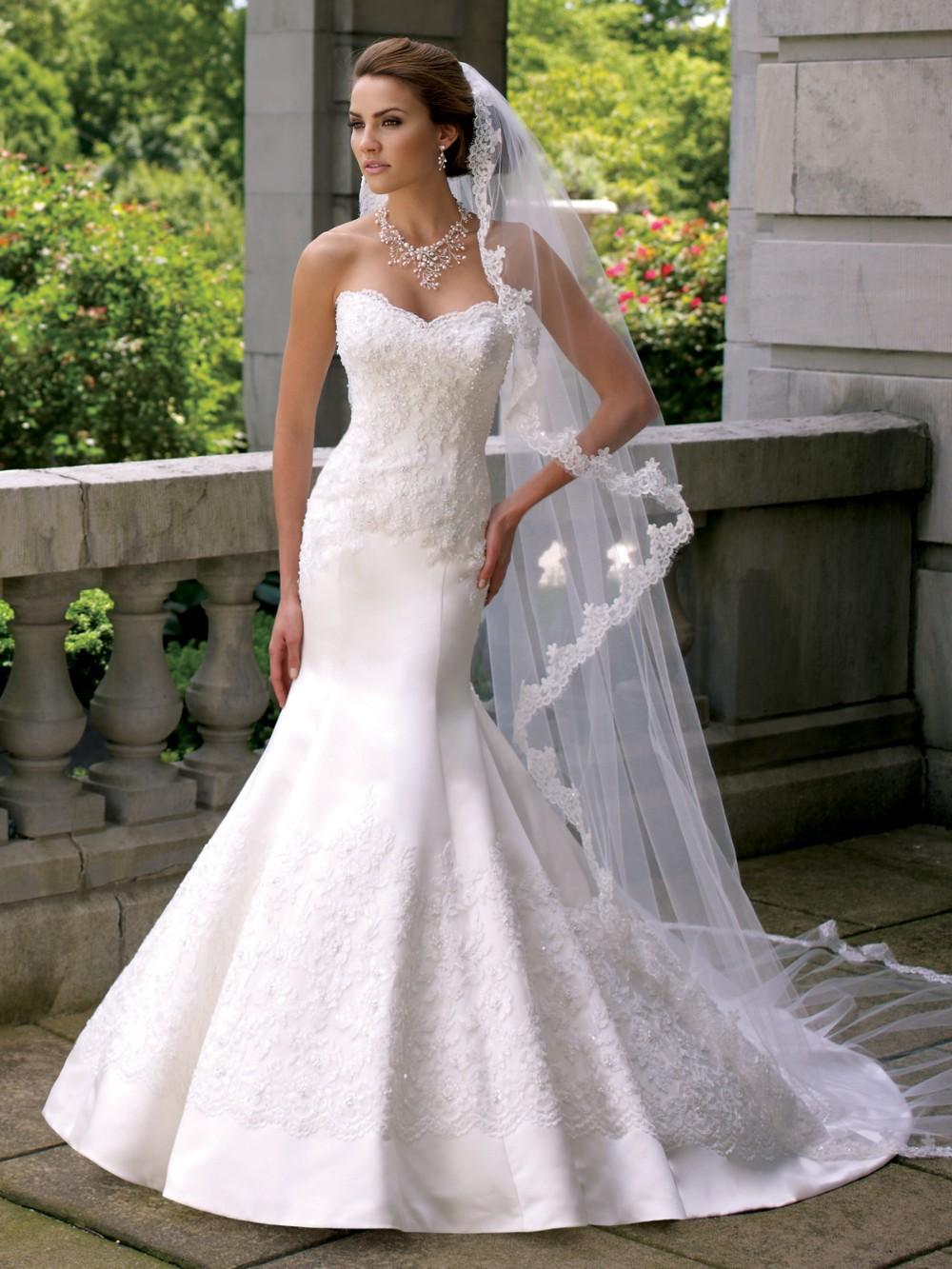 Фото длинные свадебные платья
