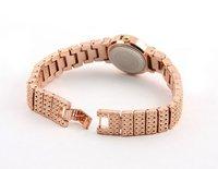 Наручные часы 2012 new styles 100% Excellent at Quality Crystal Rhinestone Rose Gold women 'watch 1PCS