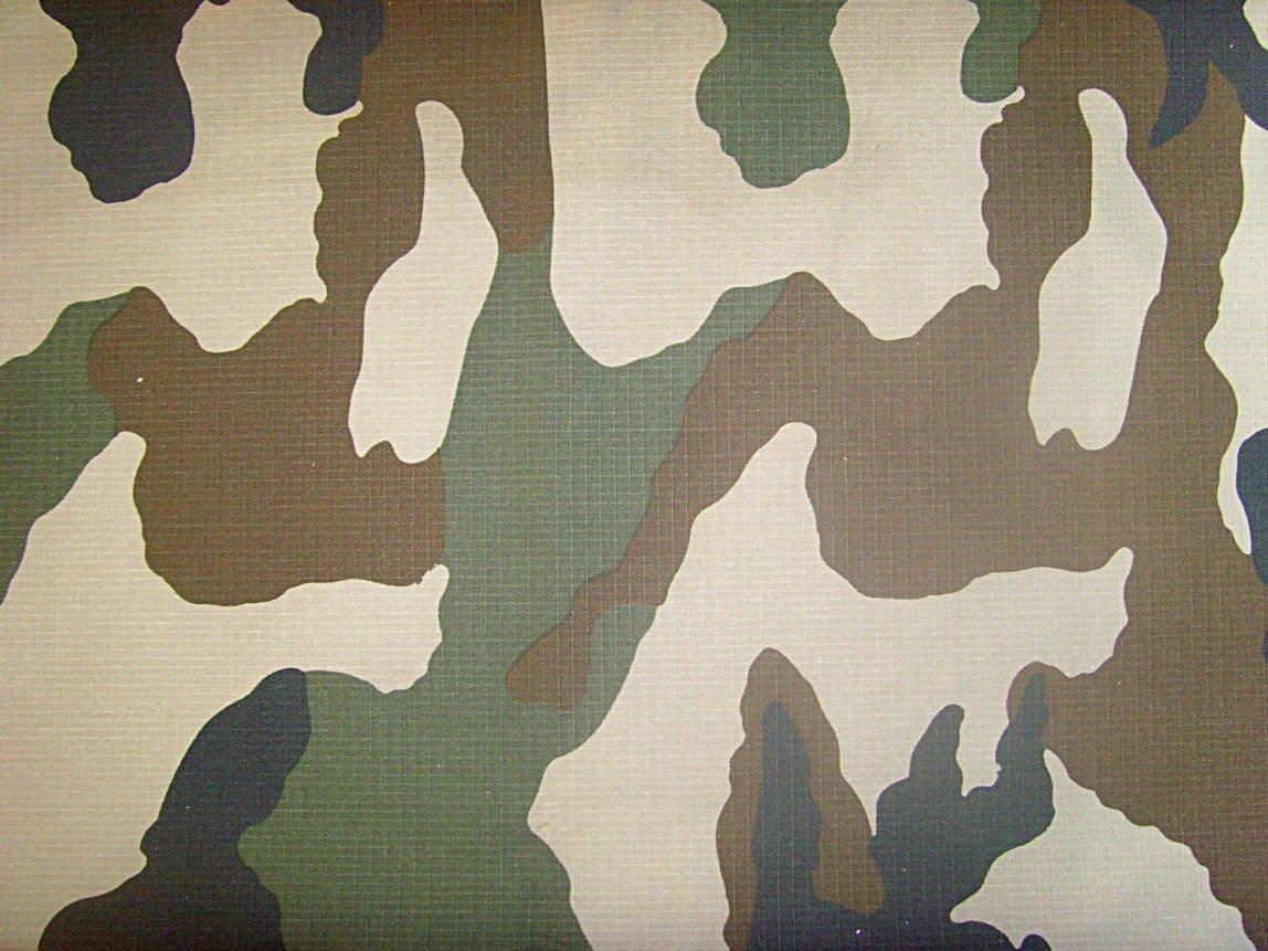 military camuoflage fabric