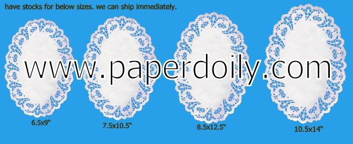 ไข่doiliesกระดาษจากผู้ผลิต- 95ขนาดสำหรับทางเลือกของคุณ