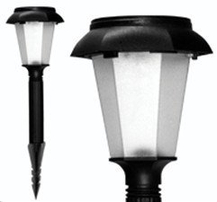 Plastic solar lawn light for garden decorative 100% solar powered 8pcs/lot Free shipping