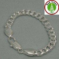 Серебряный браслет 925 silver men accessories bracelet