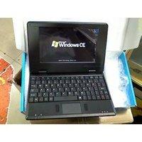 7-дюймовый цифровой экран 128m ram мини-ноутбук с батареей wifi qq msn