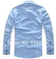 Мужская повседневная рубашка , 4 /M/L/XL/XXL/XXXL YB133