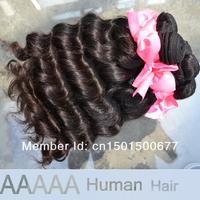 Queen Hair Products Brazilian virgin Hair Natural Wave Natural Color 8inch-30inch 1Pcs/Lot Virgin Brazilian Wavy Hair